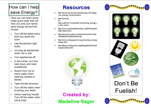 conservation of energy and resources process